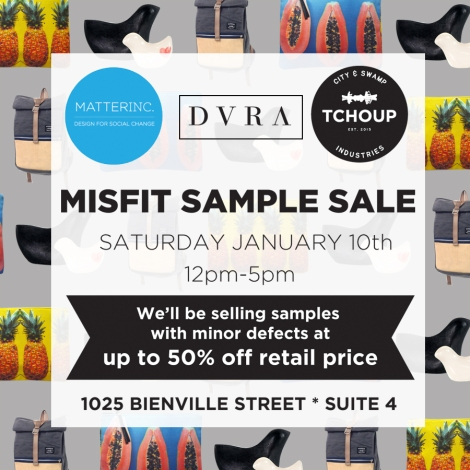 Misfit Sample Sale 1 10 15